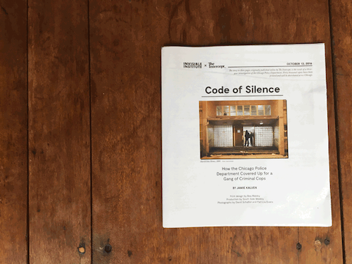The cover of Code of Silence